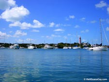 Hope Town Harbour Abaco Bahamas